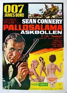 Thunderball - Finnish Movie Poster (xs thumbnail)