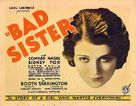 The Bad Sister - Movie Poster (xs thumbnail)