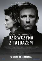 The Girl with the Dragon Tattoo - Polish Movie Poster (xs thumbnail)
