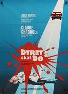 Que la bête meure - Danish Movie Poster (xs thumbnail)
