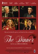 The Dinner - German Movie Poster (xs thumbnail)