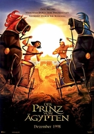The Prince of Egypt - German Movie Poster (xs thumbnail)