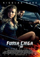 Drive Angry - Spanish Movie Poster (xs thumbnail)