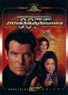Tomorrow Never Dies - Czech DVD cover (xs thumbnail)