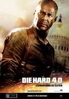 Live Free or Die Hard - Hungarian poster (xs thumbnail)