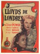 Lloyd's of London - Spanish Movie Poster (xs thumbnail)