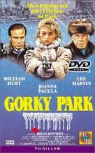 Gorky Park - German VHS movie cover (xs thumbnail)