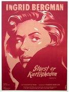 Europa '51 - Danish Movie Poster (xs thumbnail)