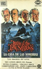 House of the Long Shadows - Spanish VHS movie cover (xs thumbnail)