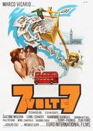 Sette volte sette - Italian Movie Poster (xs thumbnail)