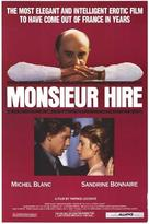 Monsieur Hire - Movie Poster (xs thumbnail)
