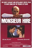 Monsieur Hire - Movie Poster (xs thumbnail)