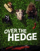 Over The Hedge - DVD cover (xs thumbnail)