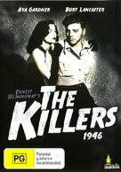 The Killers - Australian DVD movie cover (xs thumbnail)
