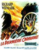 The Last Wagon - French Movie Poster (xs thumbnail)