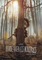 Where the Wild Things Are - Argentinian Movie Cover (xs thumbnail)