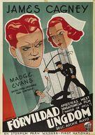 The Mayor of Hell - Swedish Movie Poster (xs thumbnail)