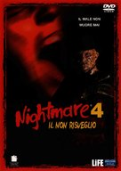 A Nightmare on Elm Street 4: The Dream Master - Italian Movie Cover (xs thumbnail)