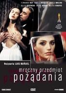 Cet obscur objet du désir - Polish DVD cover (xs thumbnail)