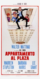 Plaza Suite - Italian Movie Poster (xs thumbnail)