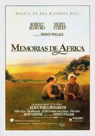 Out of Africa - Spanish Movie Poster (xs thumbnail)