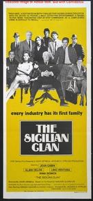 Le clan des Siciliens - Australian Movie Poster (xs thumbnail)