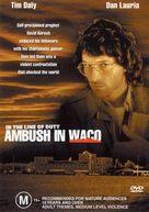 In the Line of Duty: Ambush in Waco - Australian DVD movie cover (xs thumbnail)