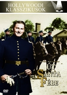 Santa Fe Trail - Hungarian Movie Cover (xs thumbnail)