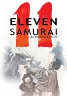 Ju-ichinin no samurai - DVD cover (xs thumbnail)