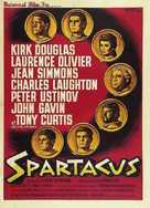 Spartacus - French Movie Poster (xs thumbnail)