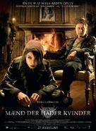 Män som hatar kvinnor - Swedish Movie Poster (xs thumbnail)