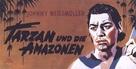 Tarzan and the Amazons - German Movie Poster (xs thumbnail)