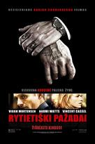 Eastern Promises - Lithuanian Movie Poster (xs thumbnail)