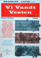 How the West Was Won - Danish Movie Poster (xs thumbnail)