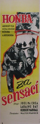 Foreign Correspondent - Czech Movie Poster (xs thumbnail)