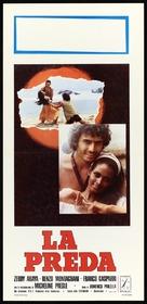 La preda - Italian Movie Poster (xs thumbnail)
