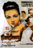 Don Juan - Spanish Movie Poster (xs thumbnail)