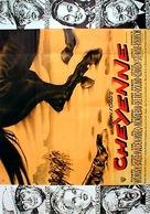 Cheyenne Autumn - German Movie Poster (xs thumbnail)