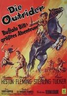Pony Express - German Movie Poster (xs thumbnail)