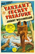 Tarzan's Secret Treasure - Movie Poster (xs thumbnail)