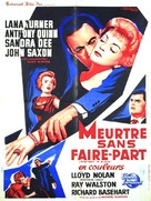Portrait in Black - French Movie Poster (xs thumbnail)