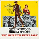 Two Mules for Sister Sara - Movie Poster (xs thumbnail)