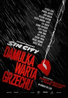 Sin City: A Dame to Kill For - Polish Movie Poster (xs thumbnail)