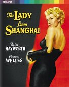 The Lady from Shanghai - British Blu-Ray movie cover (xs thumbnail)