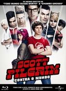Scott Pilgrim vs. the World - Brazilian Blu-Ray cover (xs thumbnail)