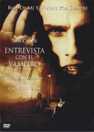 Interview With The Vampire - Mexican DVD movie cover (xs thumbnail)