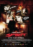 The Spirit - Czech Movie Poster (xs thumbnail)