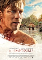 Lo imposible - Swiss Movie Poster (xs thumbnail)