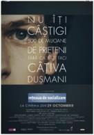 The Social Network - Romanian Movie Poster (xs thumbnail)
