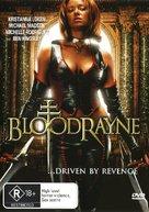 Bloodrayne - Australian DVD cover (xs thumbnail)